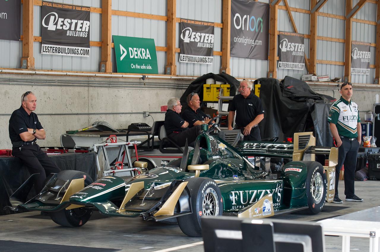 Spencer Pigot Fuzzy's Vodka /Ed Carpenter Racing Chevrolet