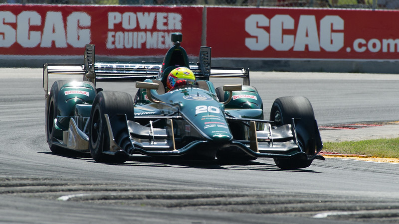 Spencer Pigot Fuzzy's Vodka /Ed Carpenter Racing Chevrolet