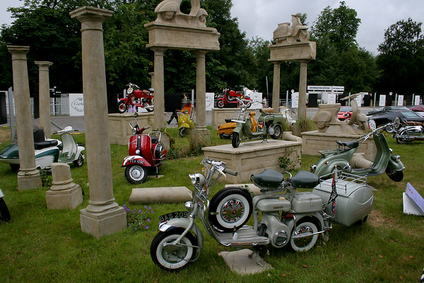 Lambretta and Vespa Display