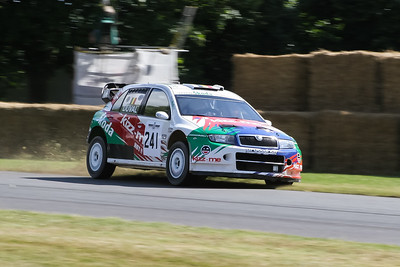 2006 - Skoda Fabia WRC (Francois Duval)