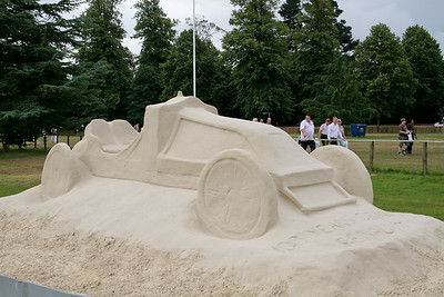 Sand Sculpture By Andrew Baynes