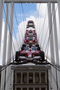 50 Years of Toyota in Motorsport Sculpture