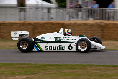 1982 - Williams-Cosworth FW08 (Nico Hulkenberg)