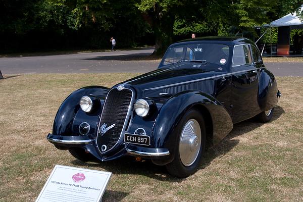 1937 - Alfa Romeo 8C 2900B Berrlinetta
