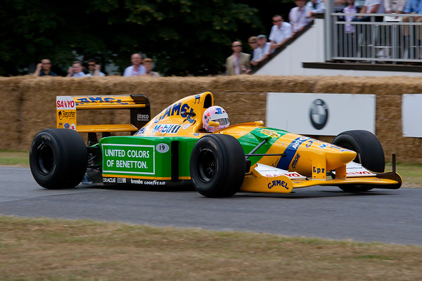 1992 - Benetton-Cosworth B192