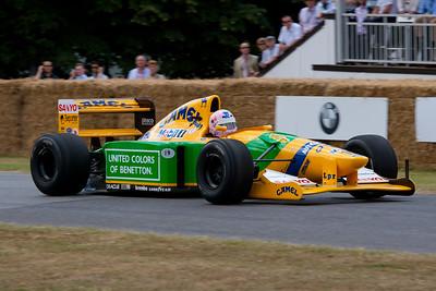 1992 - Benetton-Cosworth B192