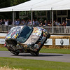 2011 Nissan Juke Electric 'Terry Grant setting the world record for two-wheeled driving'