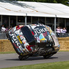 2011 - Nissan Juke Electric 'Terry Grant setting the world record for two-wheeled driving'