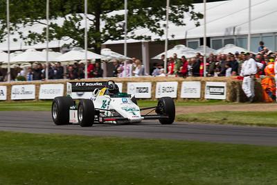 1983 - Willams-Cosworth FW08C (Bruno Senna)