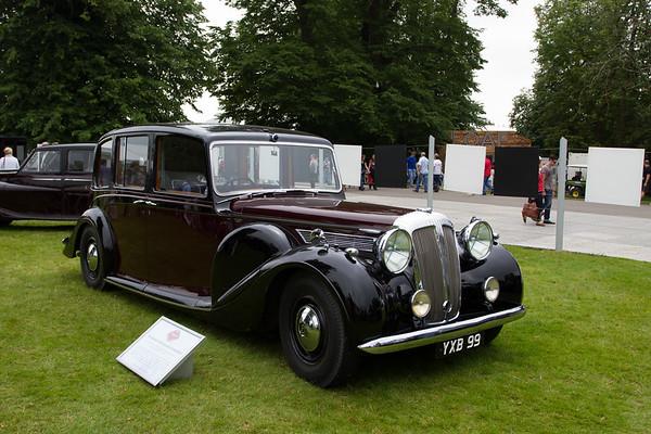 1947 - Daimler DE36 Limousine Landaulette