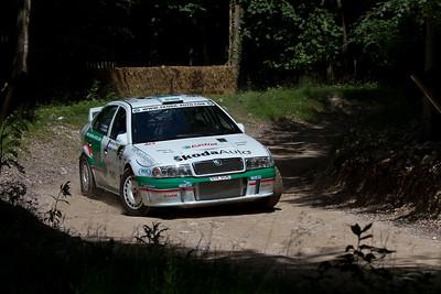 2002 - Skoda Octavia WRC Evo III