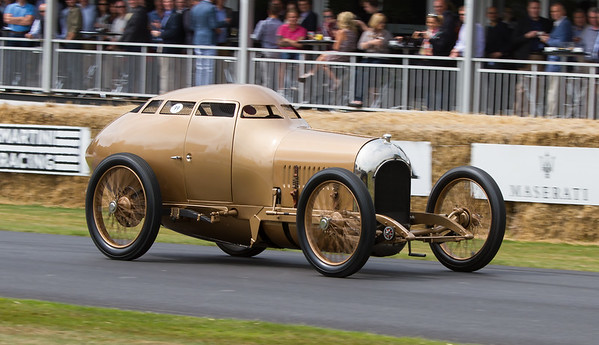 1917 - Miller Aerodynamic Coupe `Golden Submarine'