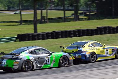 Porsche and Mercedes GT3
