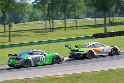 Porsche GT3  and GT4