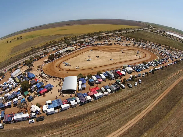 Loxton Cart Club  Australian Titles (video from above)
