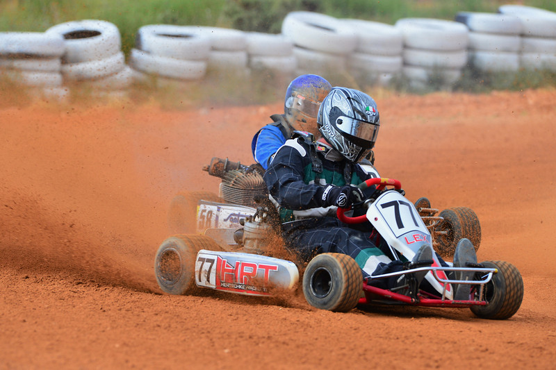 Racing at Loxton Cart Club