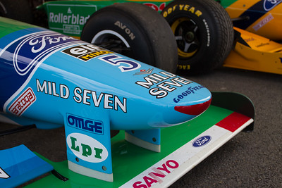 1996 - Benetton - Ford B193