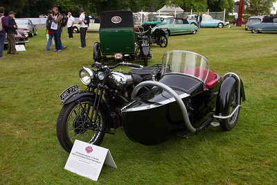1934 - Brough Petrol Tube Sidecar