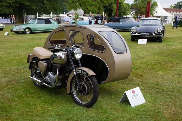 1959 - BSA Gold Flash Busmar Sidecar