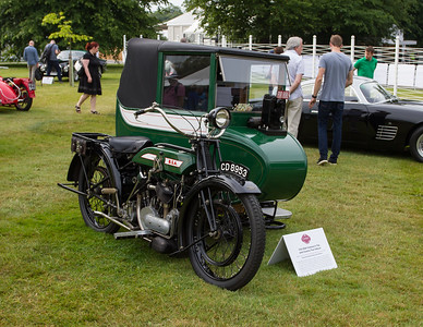 1924 - BSA Coldnial / Taxi Sidecar