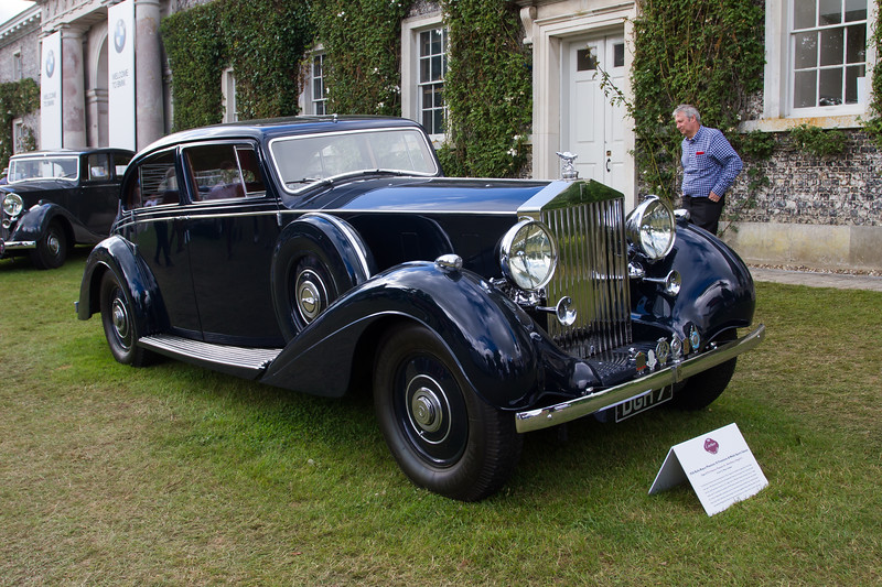 1936 - Rolls-Royce Phantom III Freestone & Webb Sports Saloon