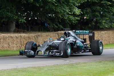 2014 - Mercedes-Benz F1 W05 Hybrid (Nico Rosberg)