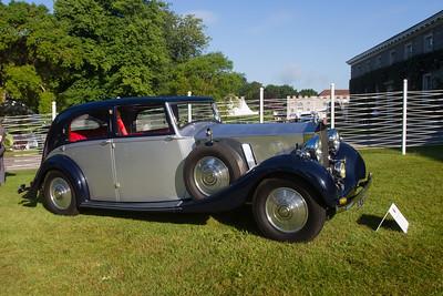 1936 - Rolls-Royce phantom III Binder Pillarless Saloon
