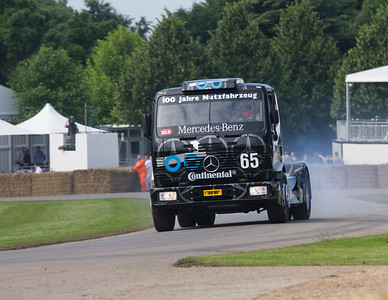 1993 - Mercedes-Benz 1834 S Race Truck