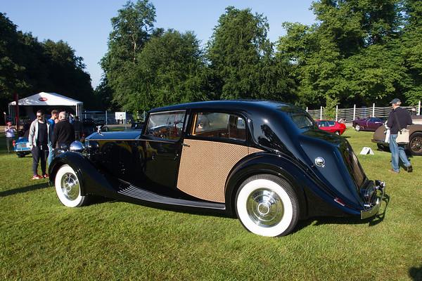 1938 - Rolls-Royce Phantom III Park Ward Sedanca De Ville