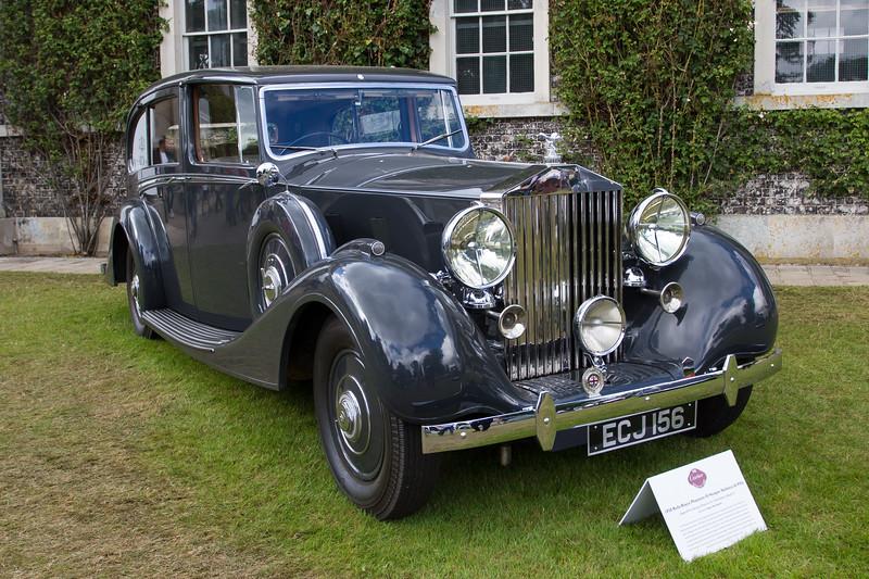 1938 Rolls-Royce Phantom III Hooper Sedanca De Ville