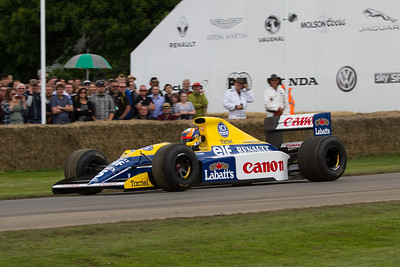 1990 - Williams-Renault FW13B (karun chandhok)
