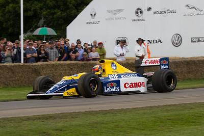 1990 - Williams-Renault FW13B (karun chandhok)