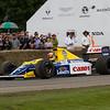 """1990 Williams-Renault FW13B """"karun Chandhok"""""""