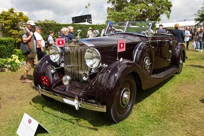 1937 - Rolls-Royce Phantom III Vanhooren Sports Drophead Coupe