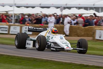 1979 - Williams-Cosworth FW07 (karun chandhok)
