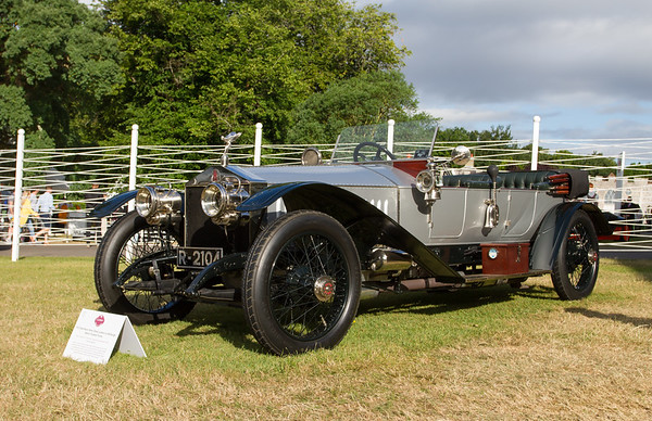1912 - Rolls-Royce Silver Ghost London - Edinburgh Baker Torpedo