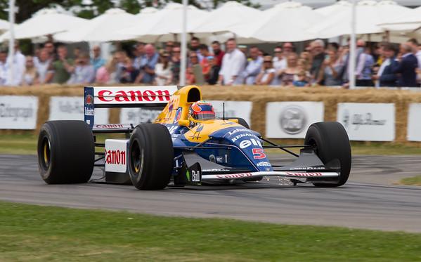 1992 - Williams-Honda FW11B