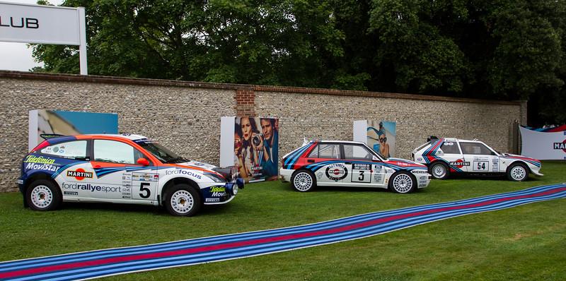 Ford Focus WRC / Lancia Delta HF Integrale / 1985 Lancia Delta S4
