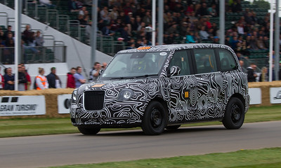 2017 - The London Taxi Company TX5