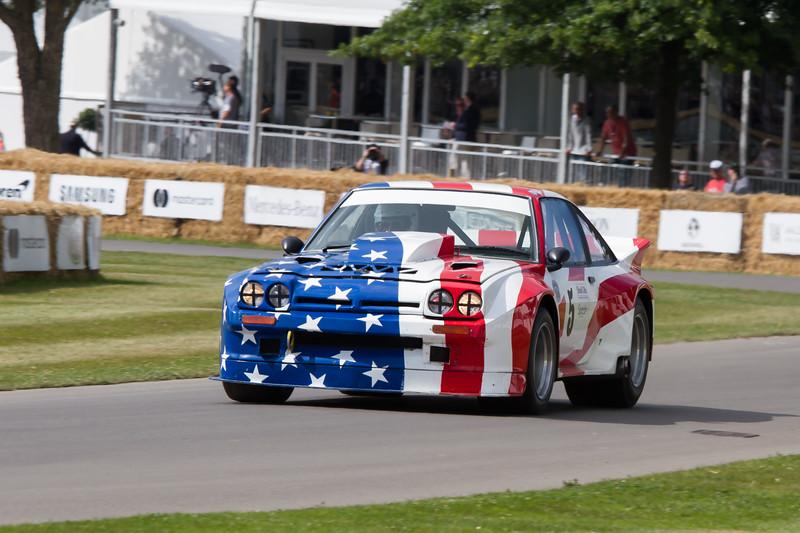 1986 Opel Manta 400 'Stars and Stripes'