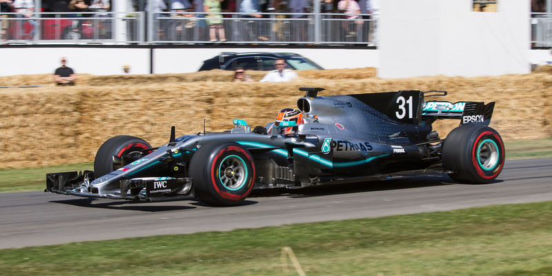 2017 - Mercedes-AMG W08 EQ Power