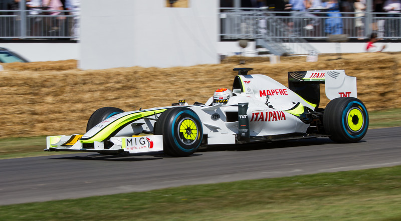 2009 Brawn Mercedes BGP 001