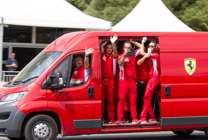 Fiat Ducato Van (Ferrari F1 Engineers)