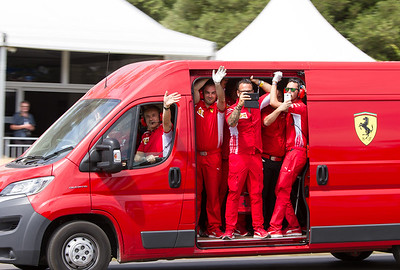 Fiat Ducato Van (Ferrari F1 Engineers)