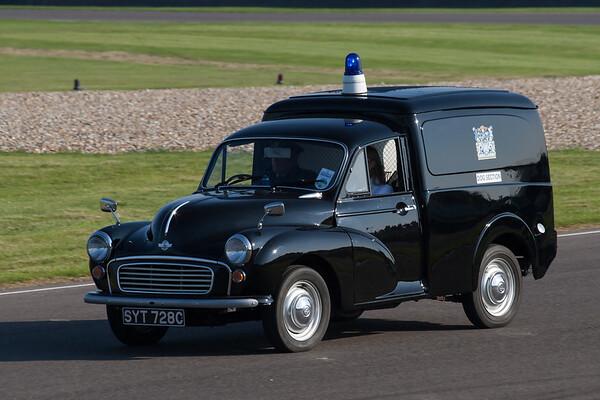 Morris Minor Police Dog Section Van