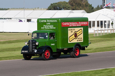 Austin Pickford Removal Van