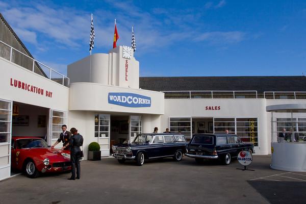 Woad Corner - Art Deco Garage