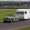 1961 - Rover 100 Towing a 1966 - Carlight Caravan