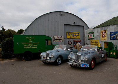 1953 Sunbeam Alpine Works Rally Cars