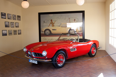 1950s BMW 507 Coupe
